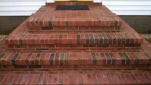 Brick steps pressure washing in Westminster, MD 21157